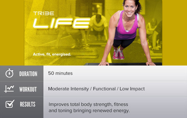 tribe life group fitness training
